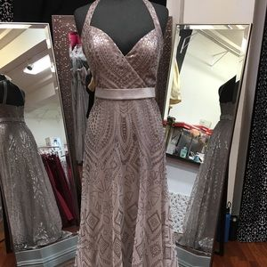 Formal dress by Angelina Faccenda NEW